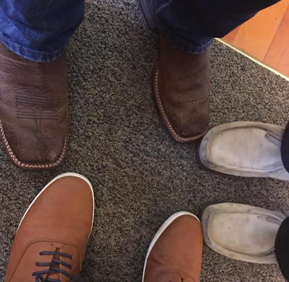 """The Boots--Fruchey """"Fresh/Cool Vans""""--Joe T. Wallabies--Pastor Bill"""