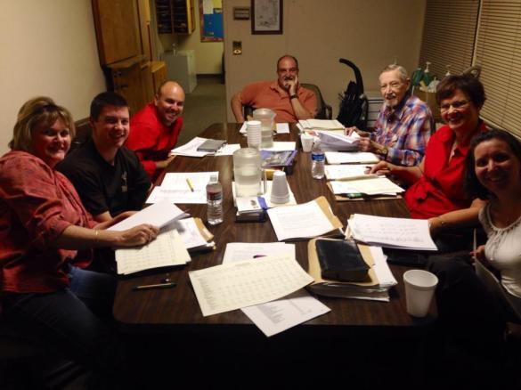 Great shot of the Burbank Faith Church Board from early 2015.